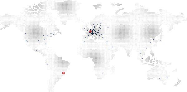 Oaklins Standorte Weltweit