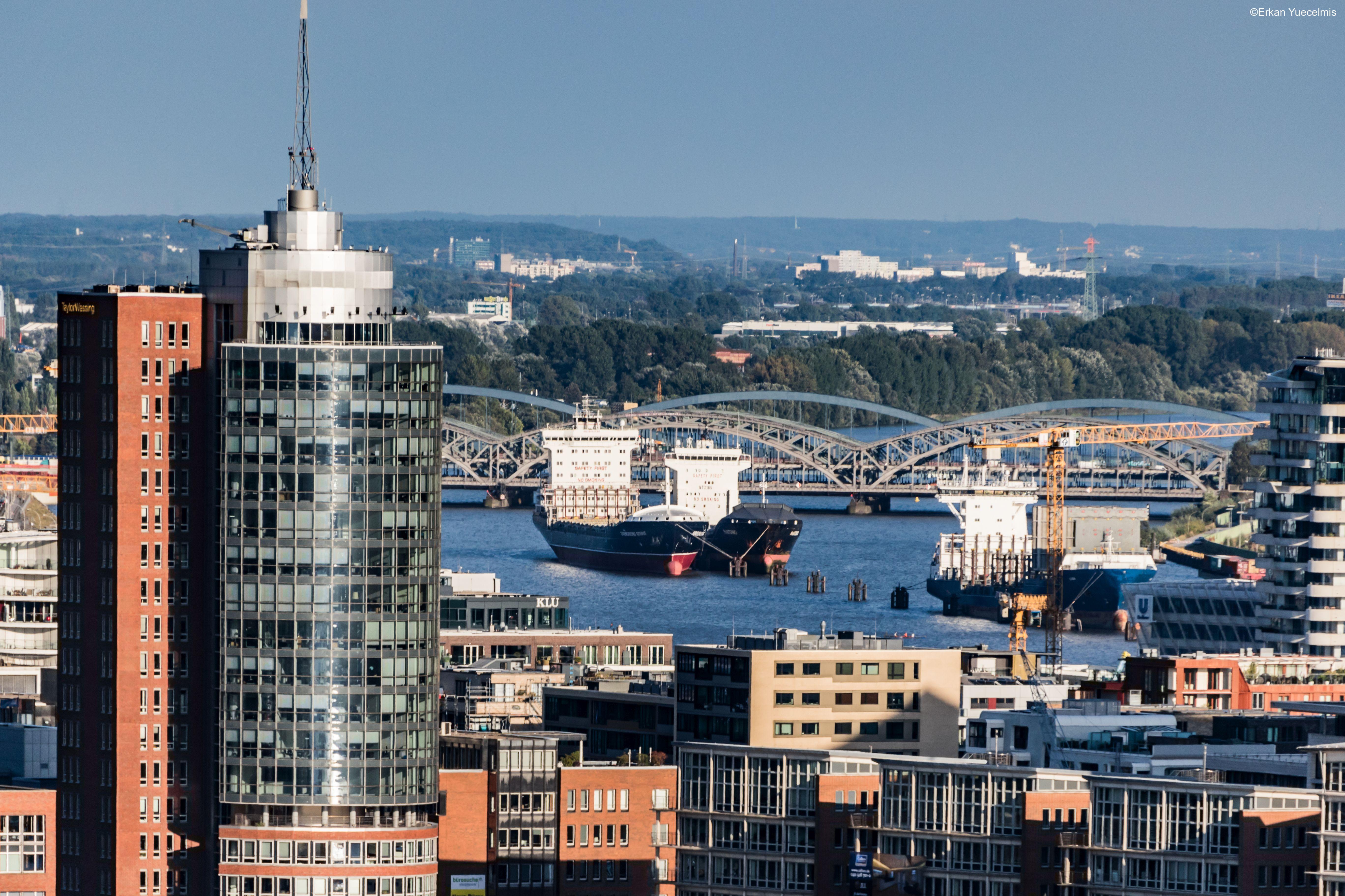 Elbbrücken Hamburg Hafen