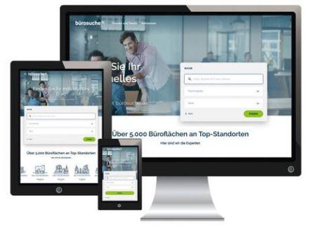 Bürosuche.de Desktop und Mobile